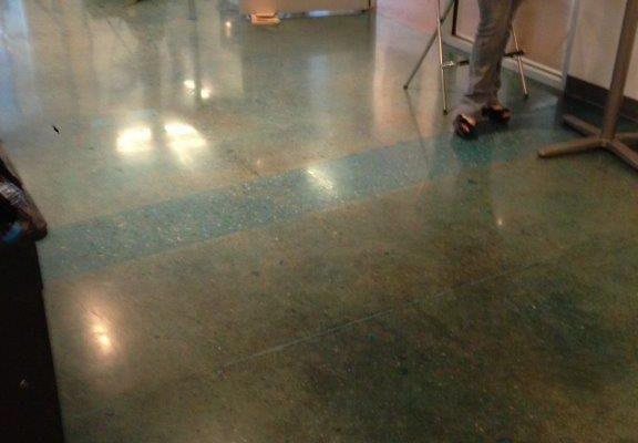 Art Studio Concrete Sales floor