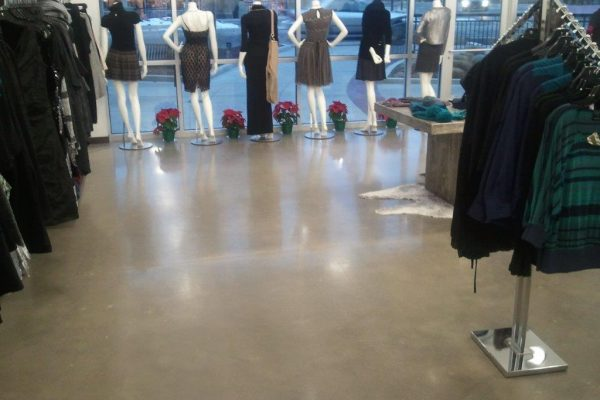 Commercial Retail Floor Repair