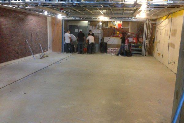 Concrete Resurfacing Work