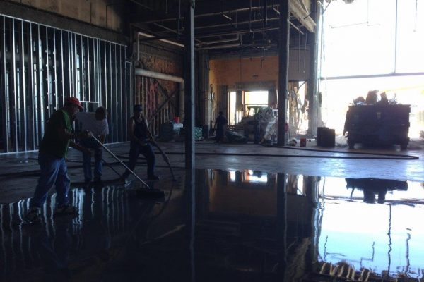 Industrial Concrete Sealing