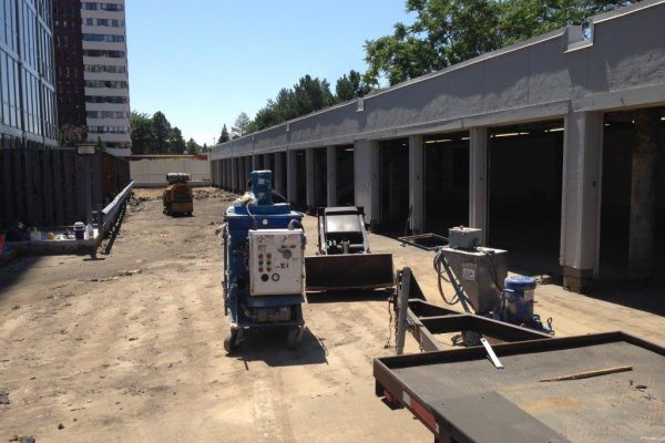 Parking Structure Concrete Prep