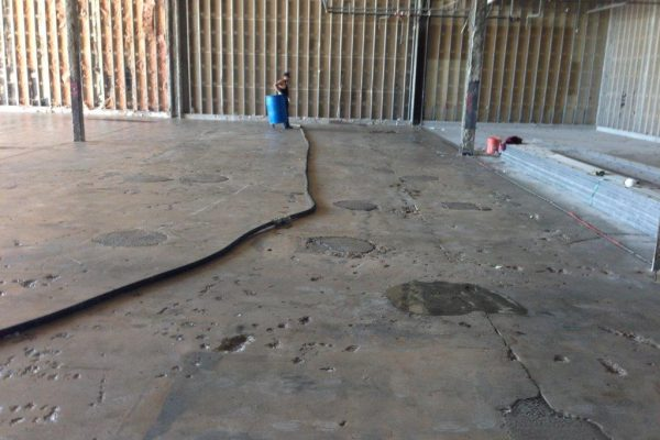 Pitted Concrete Resurfacing