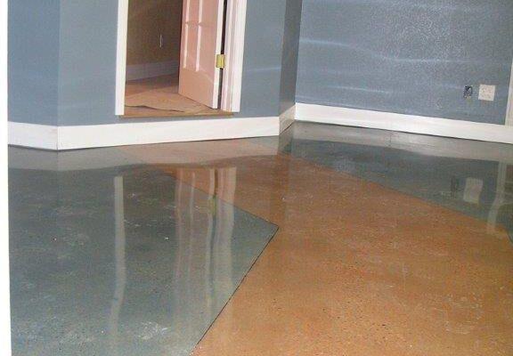 Production Polished Concrete